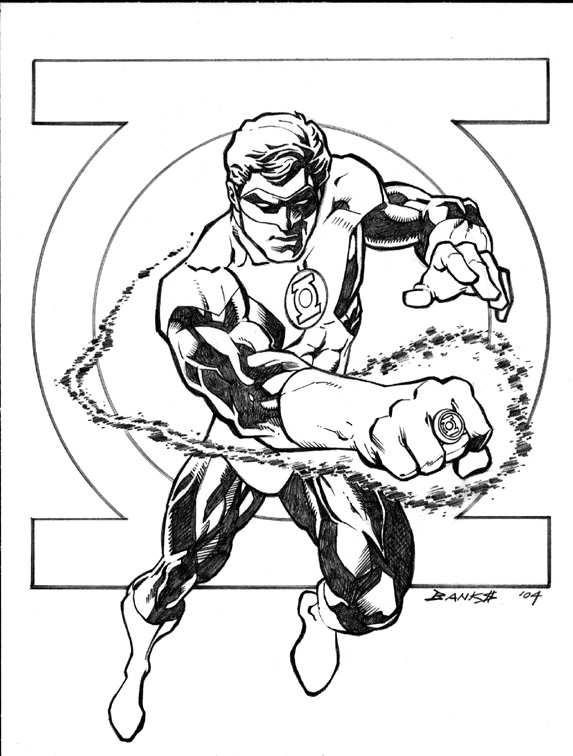 Alfa Img Showing Dc Green Arrow Coloring Pages