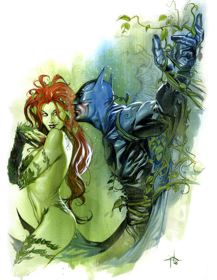 poison ivy comic pictures. Batman and Poison Ivy
