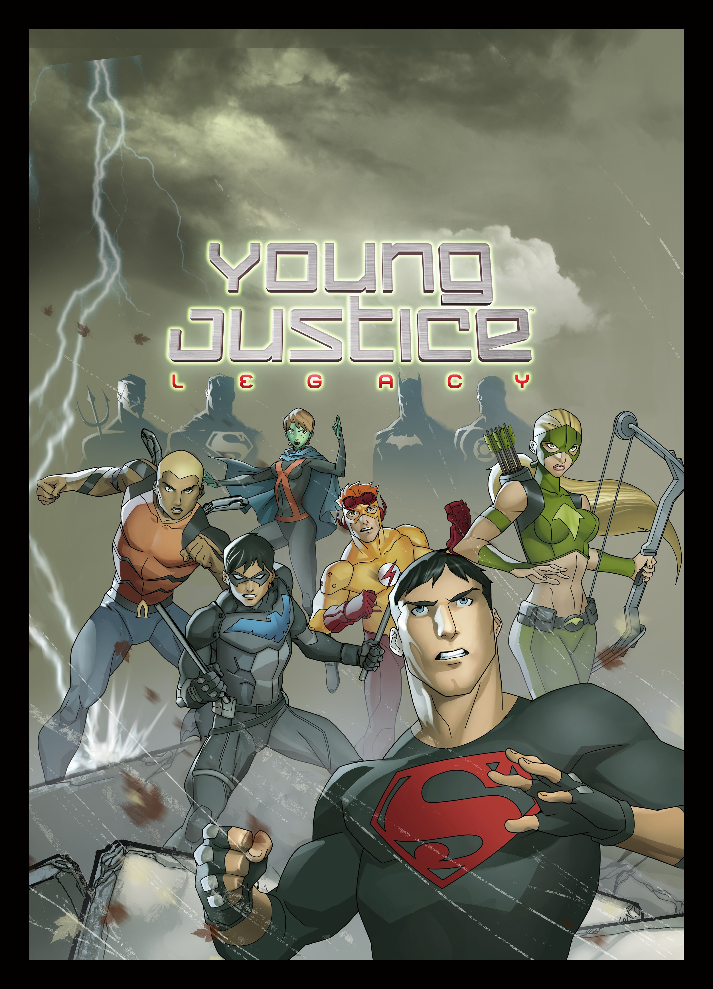 Young Justice: Legacy PS3 cover - Comic Art Community ... Young Justice Legacy Cover