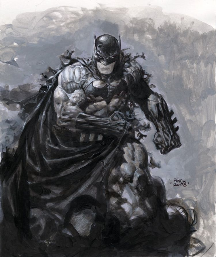 Batman Painting - Comic Art Community GALLERY OF COMIC ART
