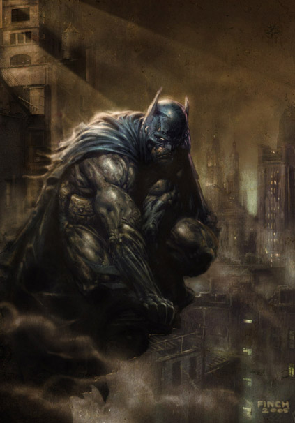 Batman finch - Comic Art Community GALLERY OF COMIC ART