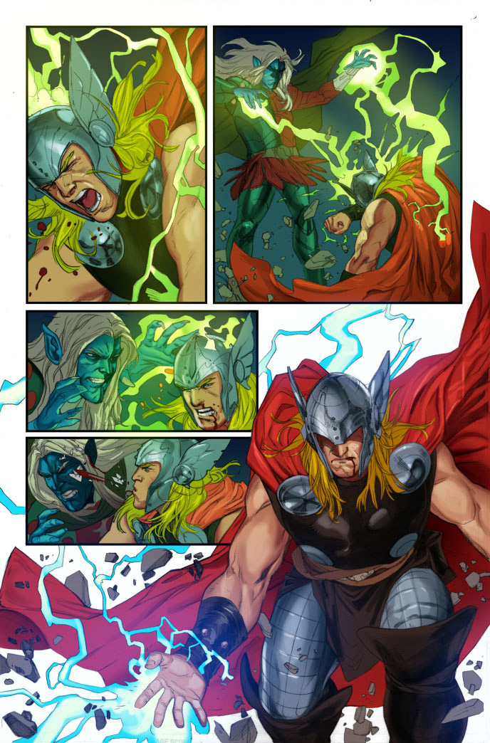 Thor God of Thunder #17