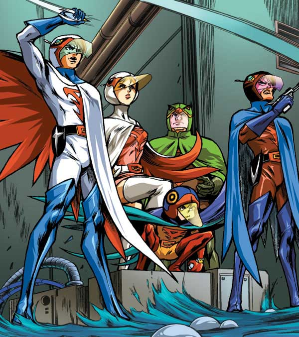 BATTLE OF THE PLANETS: TRIAL BY FIRE DIGEST - Comic Art ...