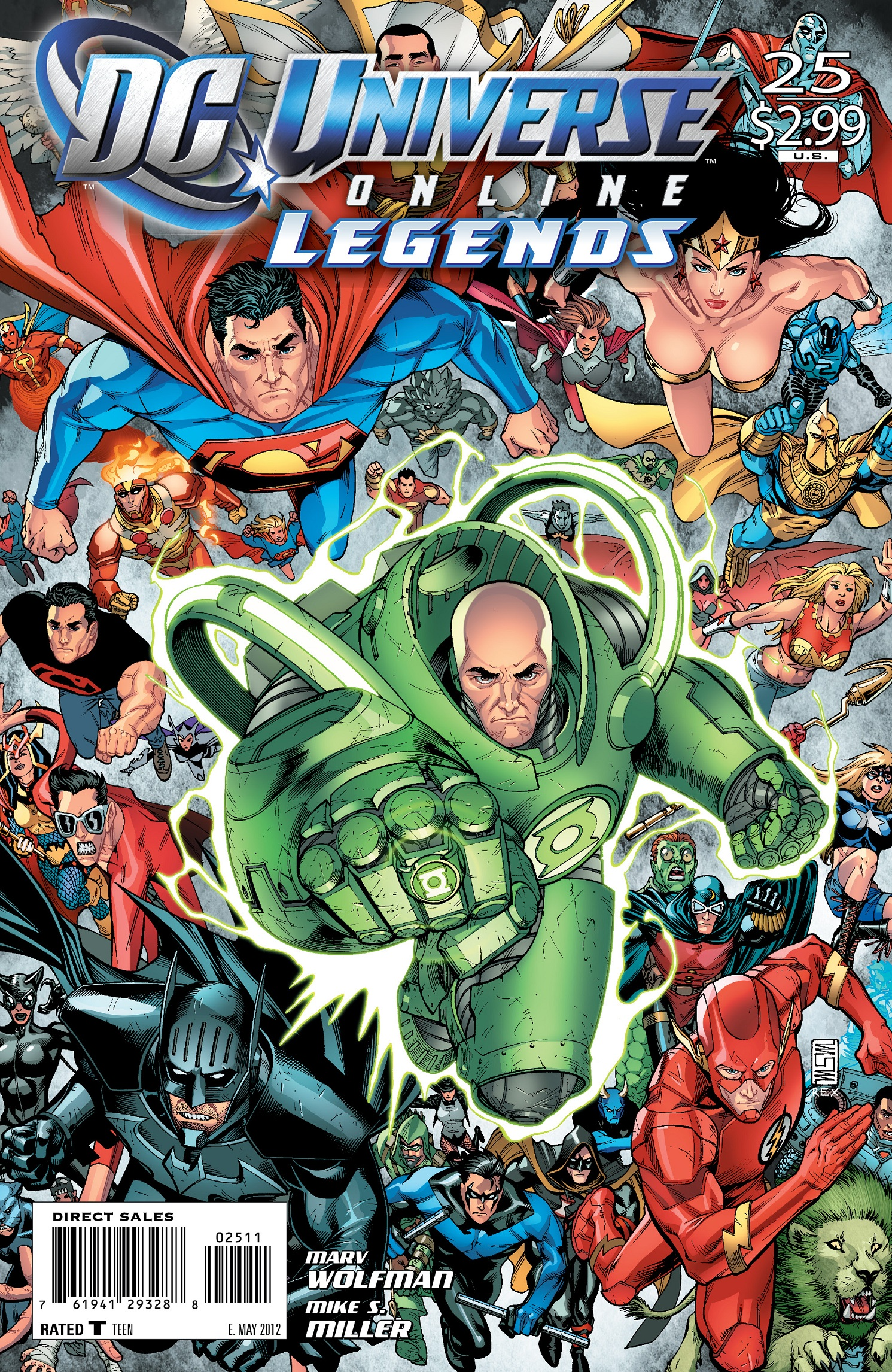Amazon.com: DC Universe Online Legends Vol. 1 ...
