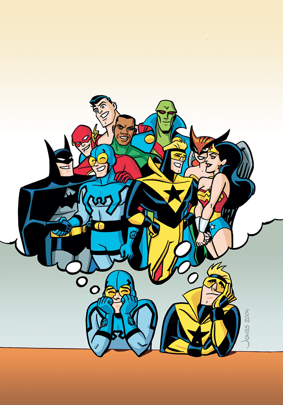JUSTICE LEAGUE UNLIMITED #43 - Comic Art Community GALLERY ...