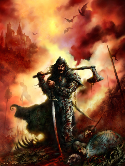 Vlad the Impaler Art