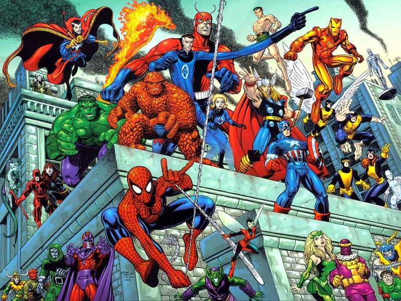 Marvel Super Heroes and Super Villains Archives