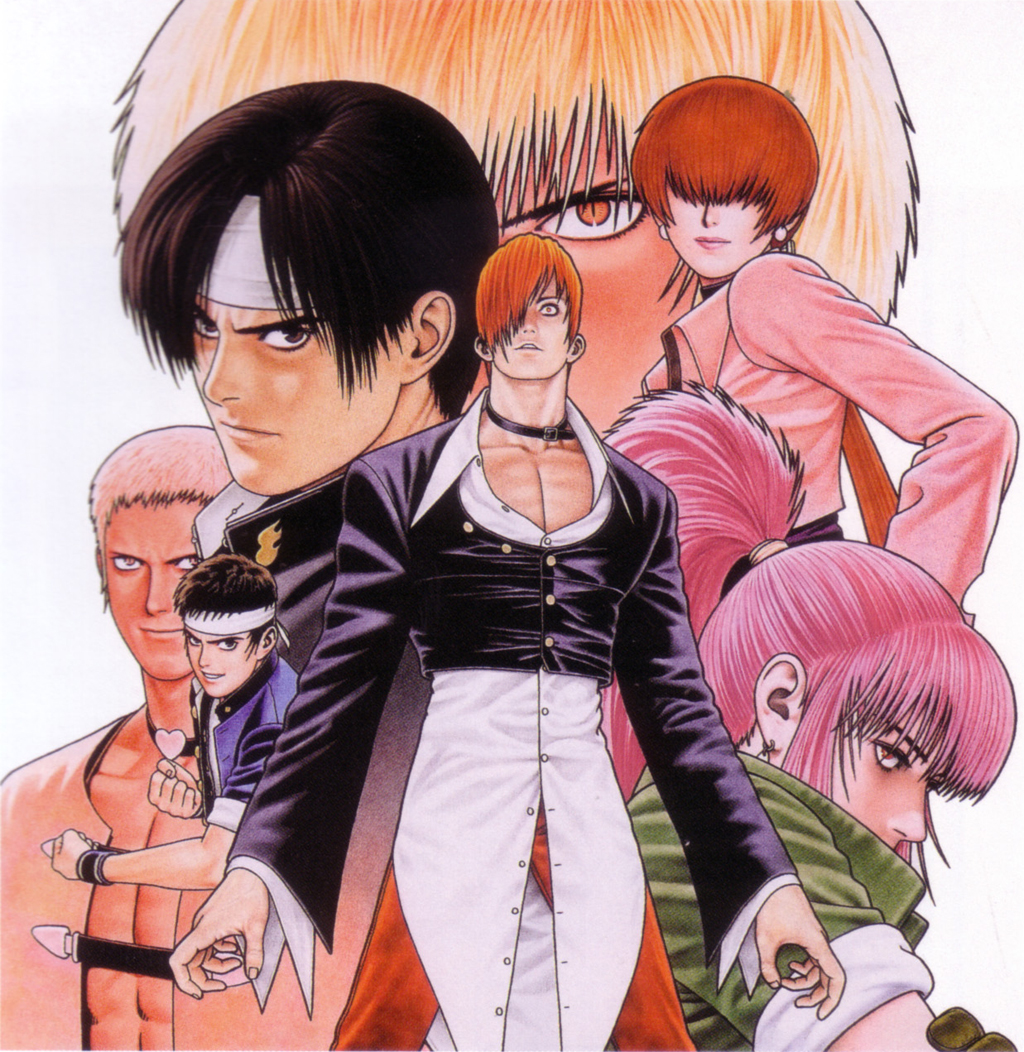 King Of Fighters 97 Comic Art Community Gallery Of Comic Art