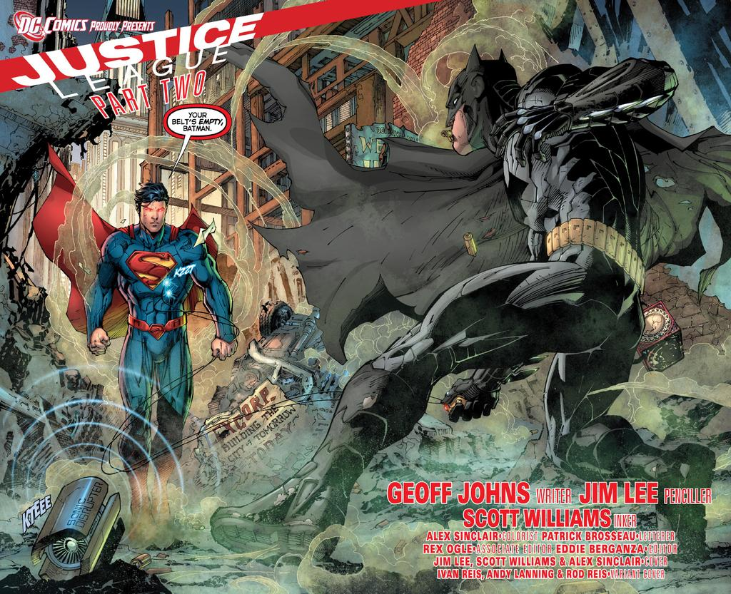 Movie Poster superman the movie poster : Preview frrom Justice League #2 - Comic Art Community ...