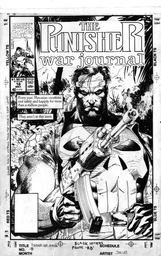 Punisher War Journal #18 - Comic Art Community GALLERY OF ...