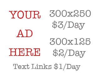 Get Your Ad Here for $3 a day