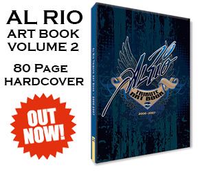 Al Rio Art Book Volume Two
