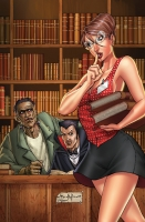 Grimm Fairy Tales: The Library Issue #4B