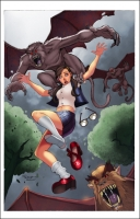 Grimm Fairy Tales: The Library Issue #4A