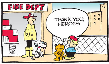 Heathcliff 9-11 Tribute