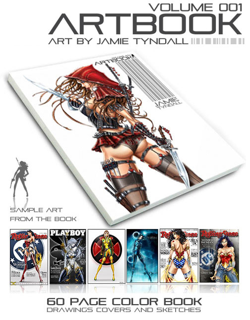 Jamie Tyndall's Art Book