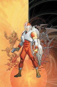 Adam Strange by Pascal Ferry