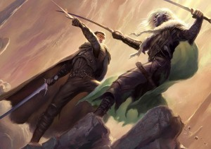 Artemis and Drizzt