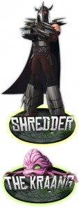 Shredder and Kraang