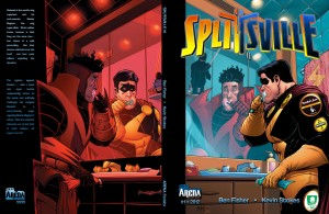 Splitsville Issue 01 Wraparound Cover