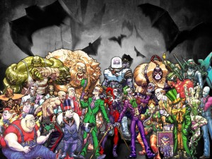Batman Arkham Villains