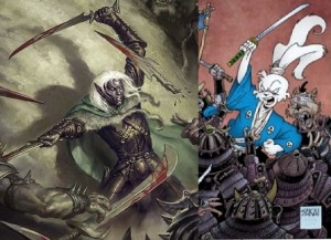 Drizzt vs Usagi