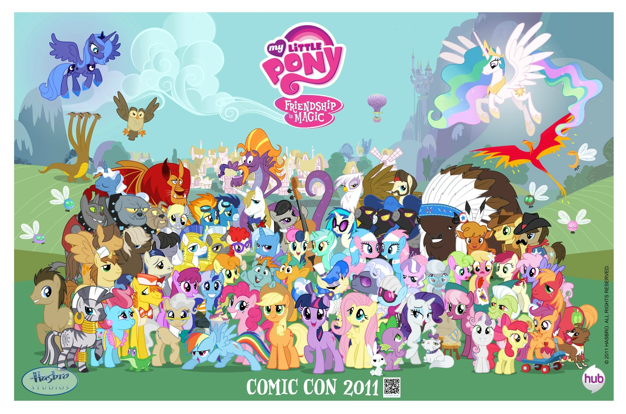 Birth Of Brony The Second Coming MLP Comic Art Community
