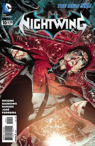 Nightwing 10 Barrows Cover