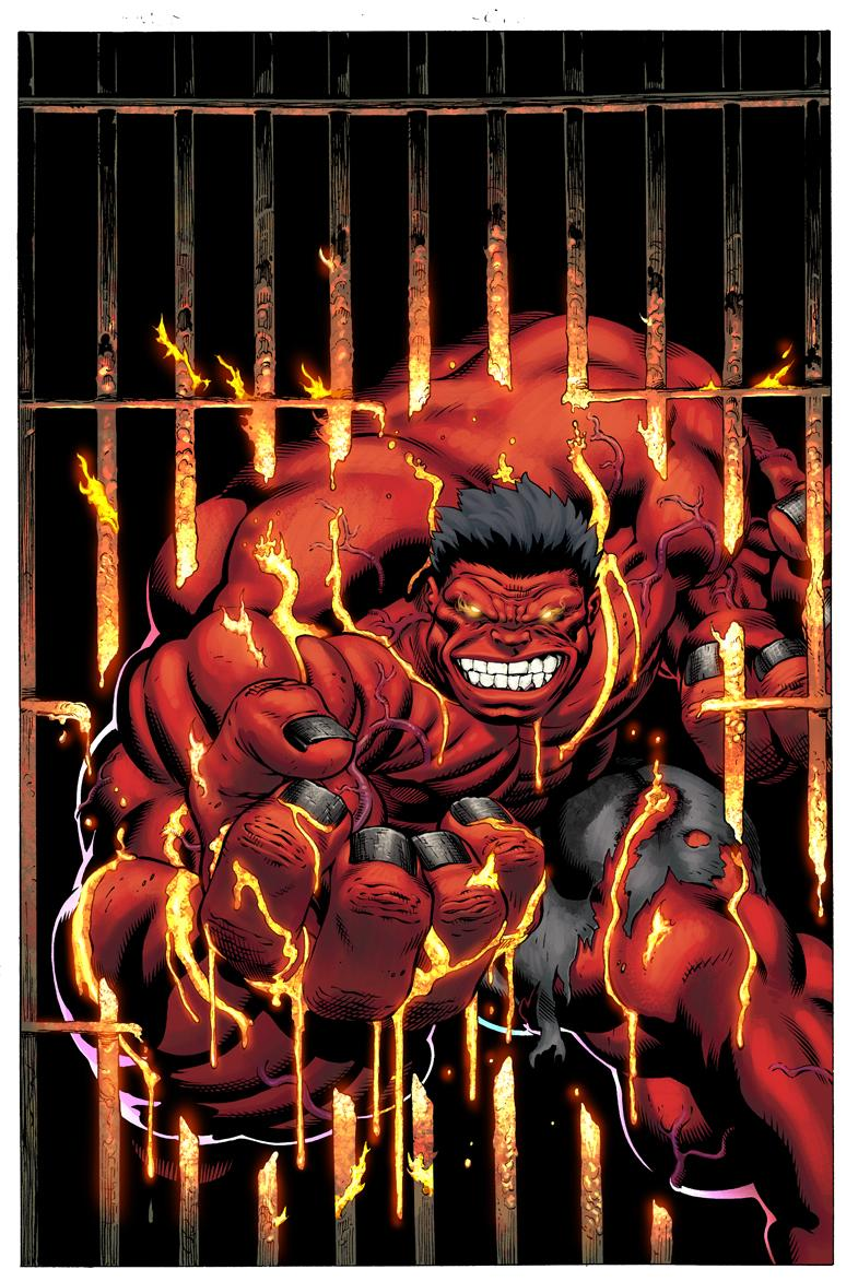 Hulk and the agents of s m a s h from page to screen - Pictures of red hulk ...