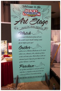 Art Stage Poster