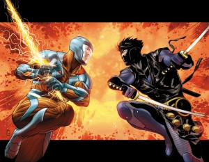 X-O MANOWAR #5 Interlocking Variants by PATRICK ZIRCHER