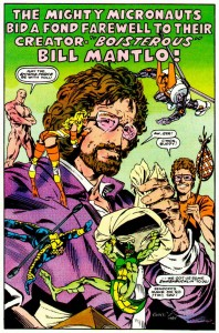 Bill Mantlo and the Micronauts