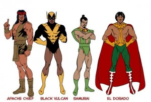 Ethnic Super Friends