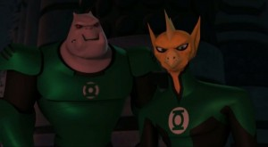 Kilowog and Tomar-Re