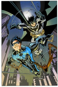 Scott McDaniel Batman and Nightwing