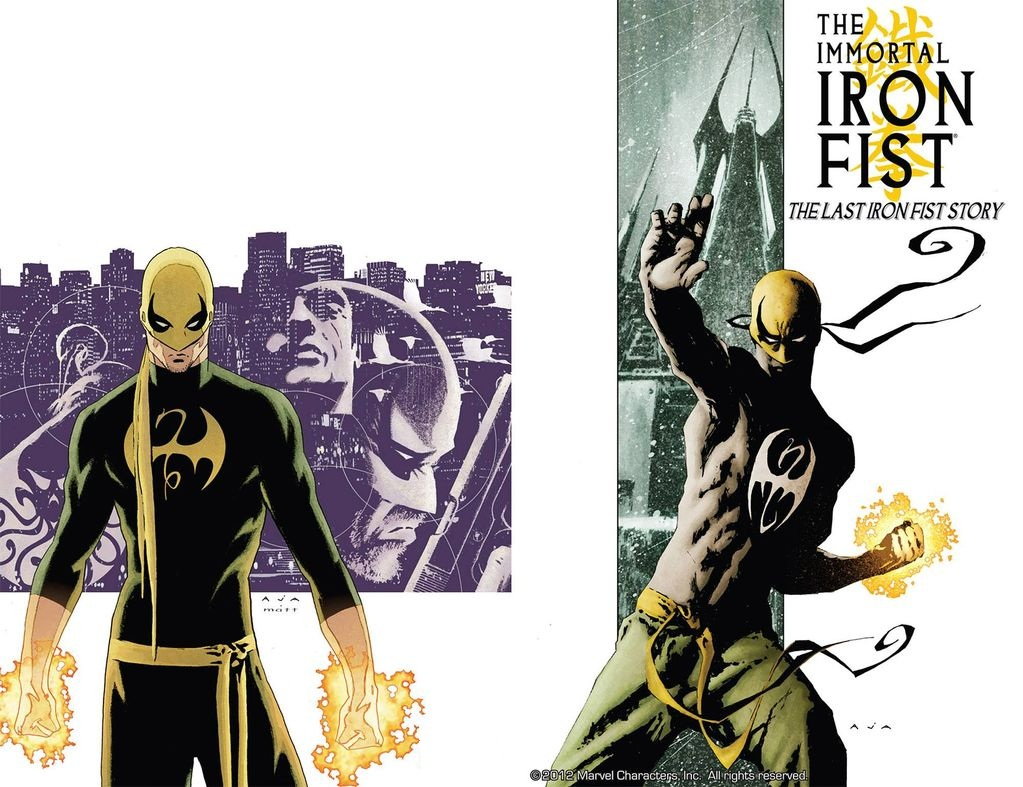 The immortal iron fist 23 believe, that