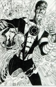 GREEN LANTERN ANNUAL #1: THE SINESTRO CORPS pg 4 by Ethan Van Sciver