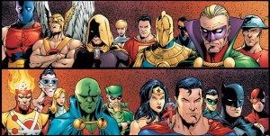 JLA JSA Virtue and Vice