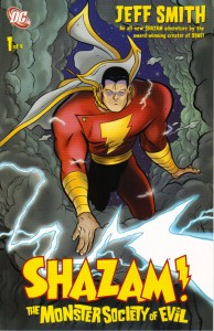 Shazam Monster Society of Evil