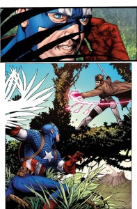 Captain America and Gambit