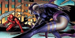 Psylocke and Daredevil