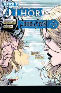 Thor and Emma Frost