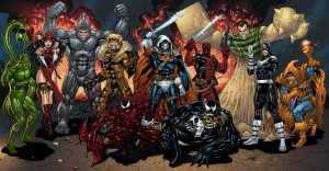 Marvel villains by Al Rio