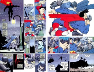 DKR Superman vs Batman