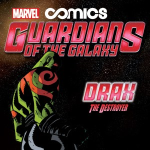 Guardians of the Galaxy Infinite Comics Cover