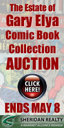 Gary Elya Comic Book Collection Auction