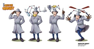 Inspector Gadget by vdvector