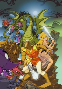 Dragon's Lair by T Bottch