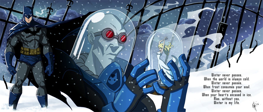 Batman and Mr Freeze