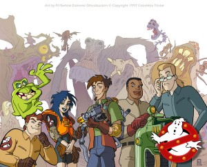 Extreme Ghostbusters by Fil Barlow